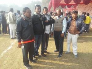 हनुमानगढ में शिक्षा विभाग के मंत्रालयिक कर्मचारियों की राज्यस्तरीय खेल- कूद प्रतियोगिता ।